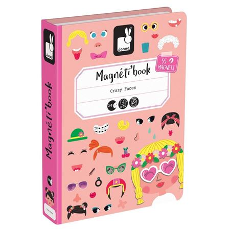 Picture of Magneti'book - Crazy Faces (girls)