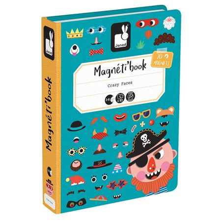 Picture of Magneti'book - Crazy Faces (boys)