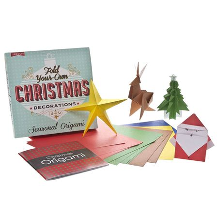 Picture of Origami Christmas Decorations