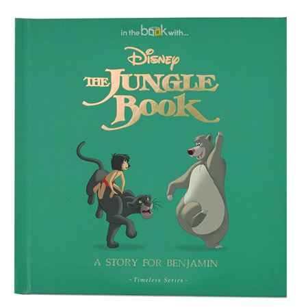 Picture of Personalised Disney Jungle Book Story Book