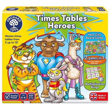 Picture of Times Tables Heroes