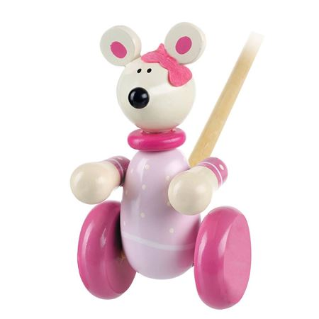 Picture of Pushalong Pink Mouse
