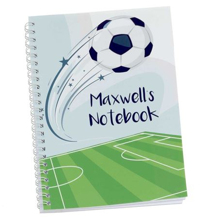 Picture of Football Personalised Notebook