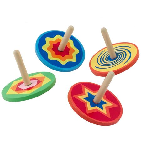 Picture of Pair of Snazzy Spinning Tops