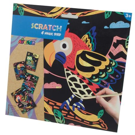 Picture of Scratch Magic Birds