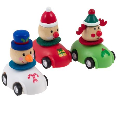 Picture of Pull Back Christmas Car