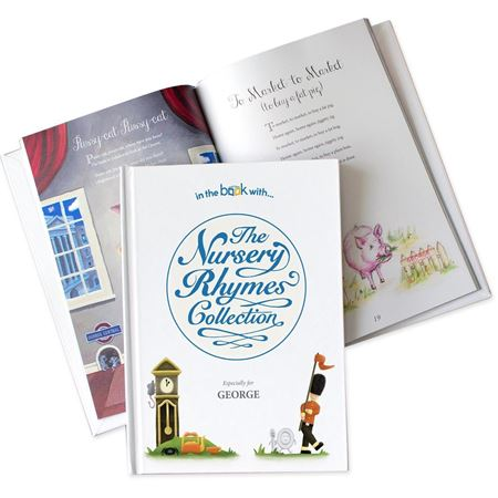 Picture of Nursery Rhyme Collection Personalised Book