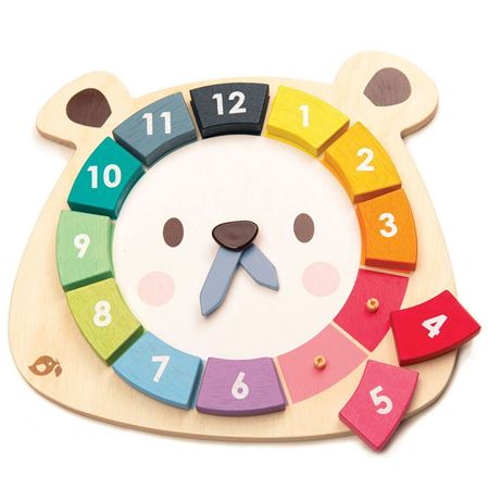 Picture of Bear Clock Colours