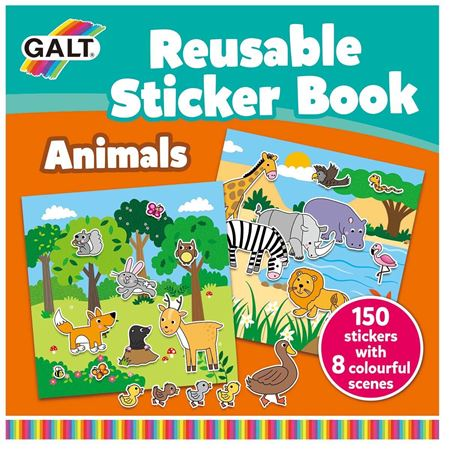 Picture of Reusable Sticker Book - Animals